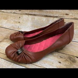 Sugar wedge career shoe heel size 7M kalinda